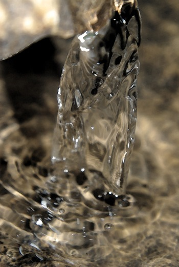 reflectiondrippingwaterwatercolor