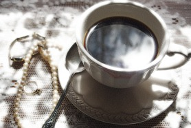 reflectionglowingcoffee