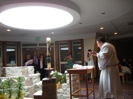 Baptism of my great nephew