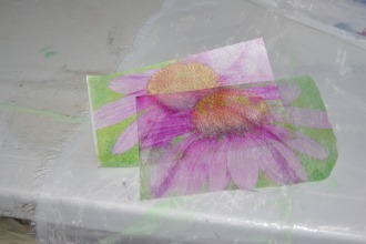 printing on used dryer sheets