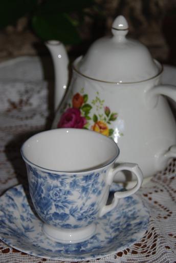 Cozy teatime