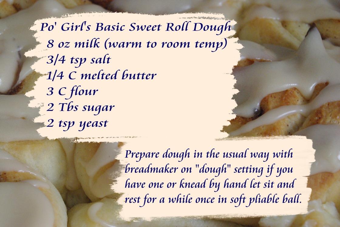 sweetrollrecipeSweetRollDough
