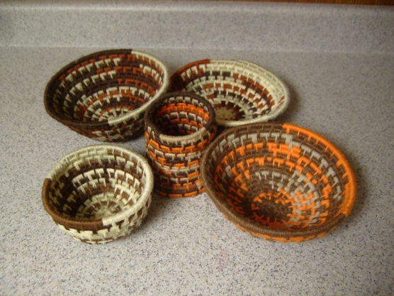 various baskets