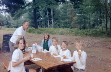 From our ages, we are probably somewhere in the Upper Peninsula.