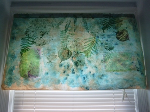 Another nature inspired valance.