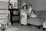 Aunt Ruth sis, me and one brother