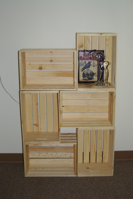 My original six crates.