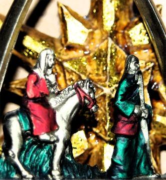 Nativity fresco