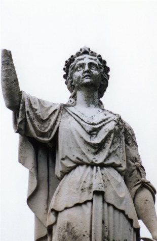 Tecumseh Cemetery Statue