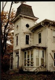 Northville Mi abandoned home.
