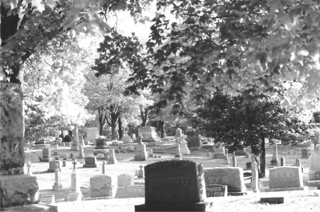 blk wht cemeteryCalumetCemtary5